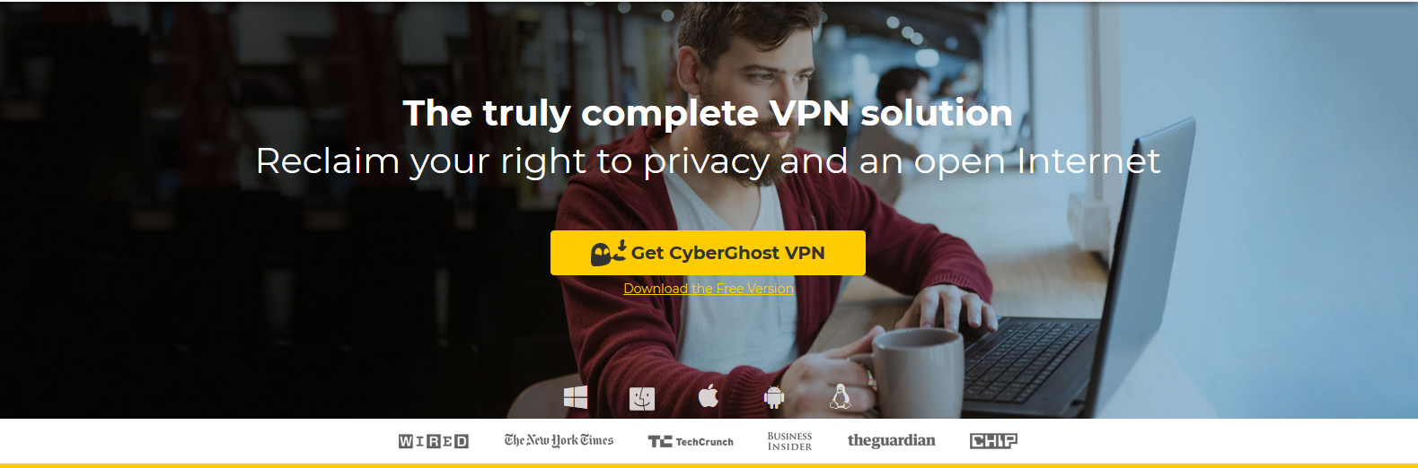 Best VPN Services CyberGhost VPN
