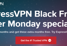 ExpressVPN Black Friday Cyber Monday Special Offering