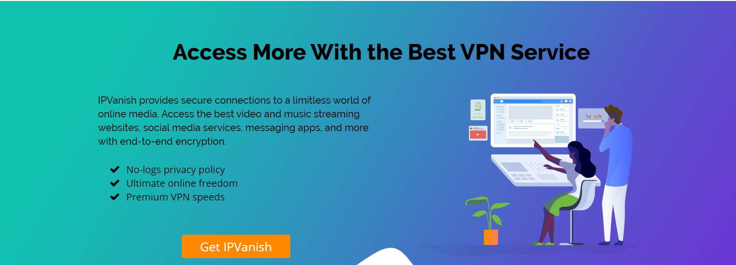 IPVanish VPN Review Streaming