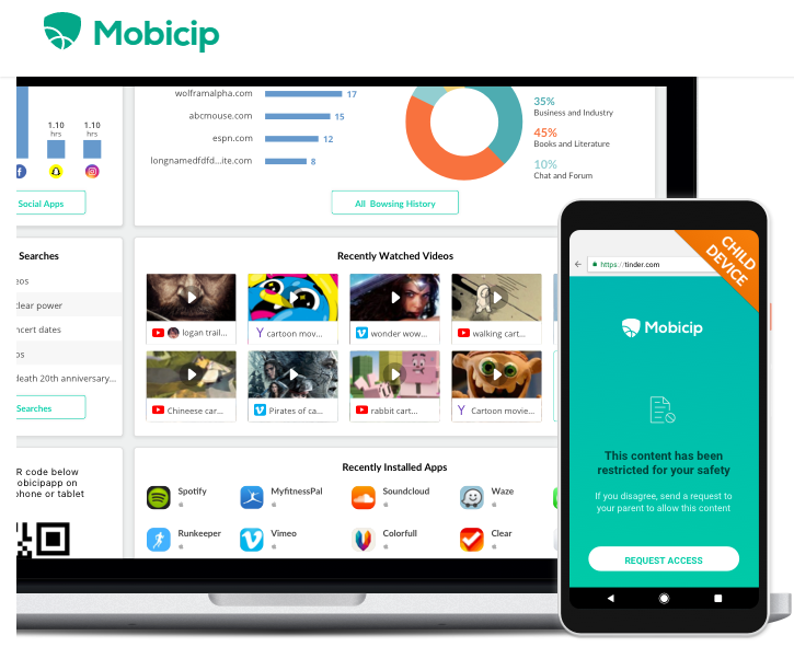 Mobicip Advanced Internet Filtering