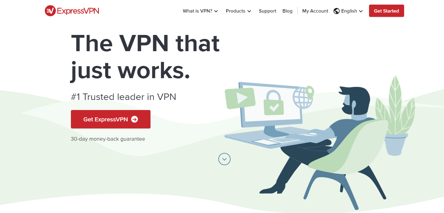 ExpressVPN Website